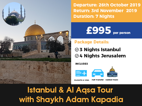 Istanbul and aqsa tour